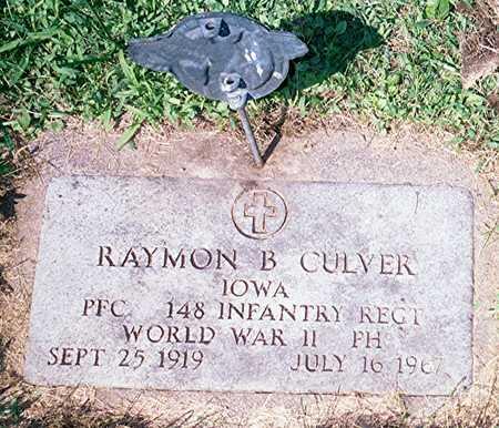 CULVER, RAYMON B. - Jackson County, Iowa | RAYMON B. CULVER