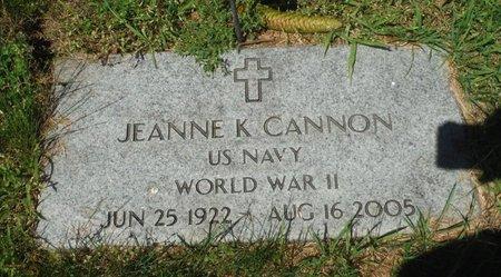 KETCHUM CANNON, JEANNE - Jackson County, Iowa | JEANNE KETCHUM CANNON
