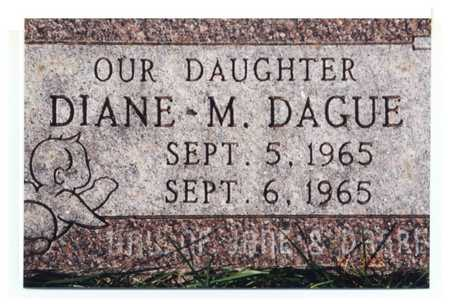 DAGUE, DIANE M. - Jackson County, Iowa | DIANE M. DAGUE