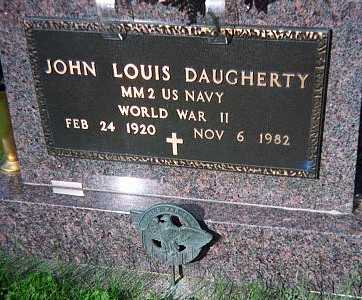 DAUGHERTY, JOHN LOUIS - Jackson County, Iowa | JOHN LOUIS DAUGHERTY