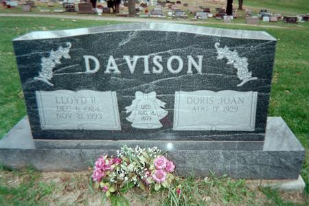 DAVISON, DORIS JOAN - Jackson County, Iowa | DORIS JOAN DAVISON