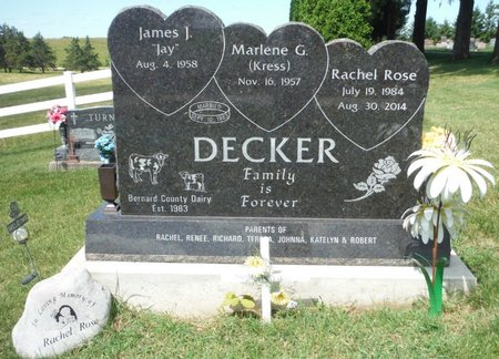 DECKER, RACHEL ROSE - Jackson County, Iowa | RACHEL ROSE DECKER