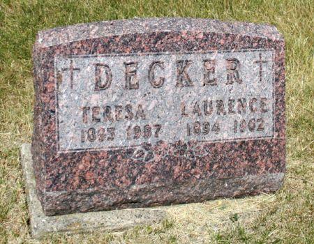 DECKER, TERESA - Jackson County, Iowa | TERESA DECKER
