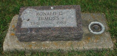 DEMOSS, RONALD G. - Jackson County, Iowa   RONALD G. DEMOSS