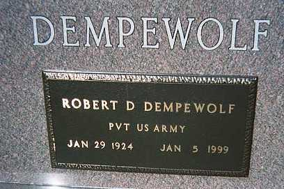 DEMPEWOLF, ROBERT D. - Jackson County, Iowa | ROBERT D. DEMPEWOLF