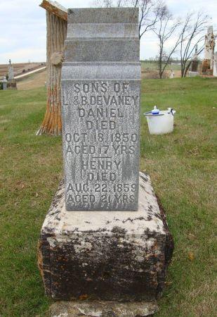 DEVANEY, DANIEL - Jackson County, Iowa | DANIEL DEVANEY