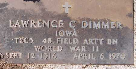 DIMMER, LAWRENCE C. - Jackson County, Iowa | LAWRENCE C. DIMMER
