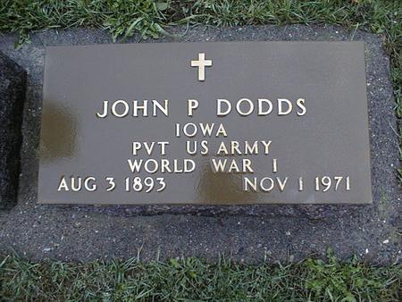 DODDS, JOHN P. - Jackson County, Iowa | JOHN P. DODDS