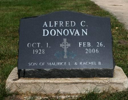 DONOVAN, ALFRED - Jackson County, Iowa | ALFRED DONOVAN