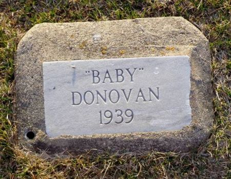 DONOVAN, BABY - Jackson County, Iowa   BABY DONOVAN
