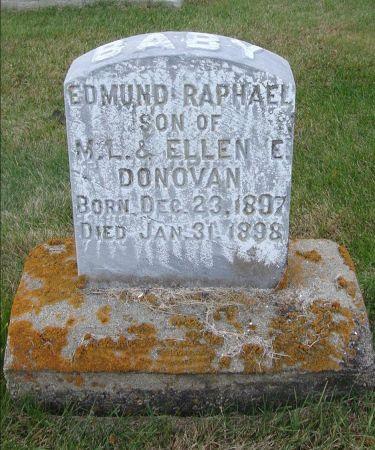DONOVAN, EDMUND RAPHAEL - Jackson County, Iowa | EDMUND RAPHAEL DONOVAN