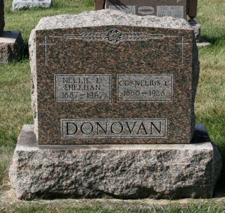 DONOVAN, NELLIE E. - Jackson County, Iowa | NELLIE E. DONOVAN