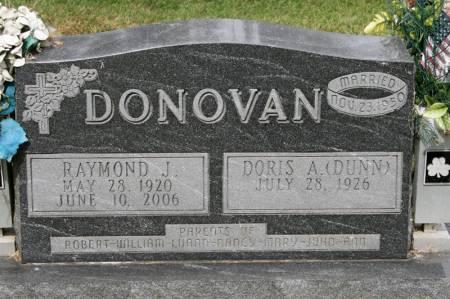 DONOVAN, RAYMOND - Jackson County, Iowa | RAYMOND DONOVAN