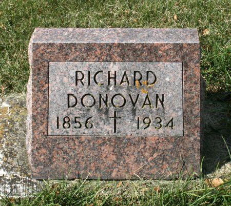 DONOVAN, RICHARD - Jackson County, Iowa | RICHARD DONOVAN