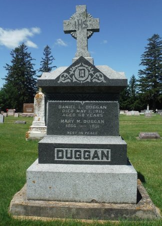DUGGAN, MARY M. - Jackson County, Iowa | MARY M. DUGGAN