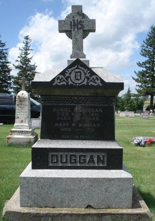 DUGGAN, MARY M. - Jackson County, Iowa | MARY M. DUGGAN