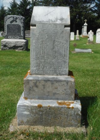 DUNN, MARGERY M. L. - Jackson County, Iowa | MARGERY M. L. DUNN