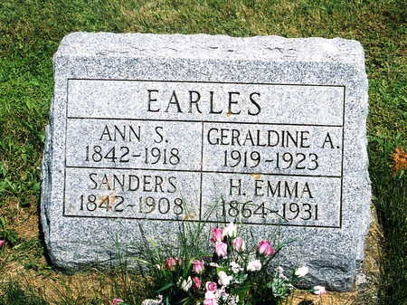 EARLES, HARRIET EMMA - Jackson County, Iowa | HARRIET EMMA EARLES