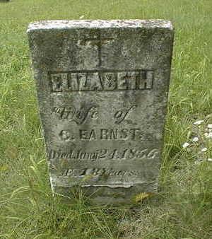 EARNST, ELIZABETH - Jackson County, Iowa | ELIZABETH EARNST