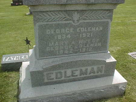 EDLEMAN, MARY A. - Jackson County, Iowa | MARY A. EDLEMAN
