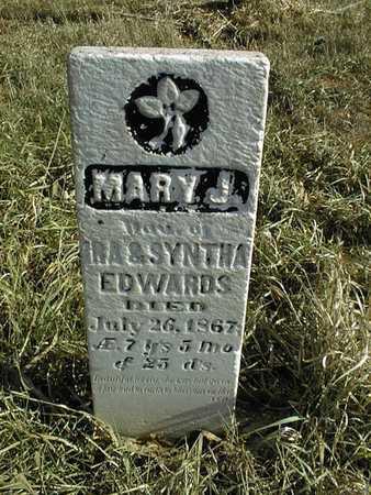 EDWARDS, MARY J. - Jackson County, Iowa | MARY J. EDWARDS