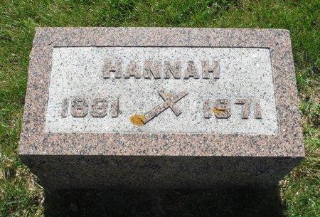 ENGLAIS, HANNAH J. - Jackson County, Iowa | HANNAH J. ENGLAIS