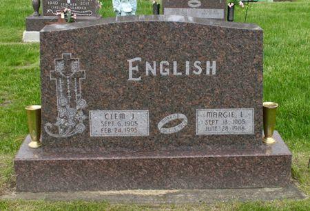 KENNEDY ENGLISH, MARGIE L. - Jackson County, Iowa   MARGIE L. KENNEDY ENGLISH