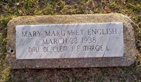 ENGLISH, MARY MARGARET - Jackson County, Iowa | MARY MARGARET ENGLISH