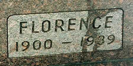 ETRINGER, FLORENCE - Jackson County, Iowa | FLORENCE ETRINGER
