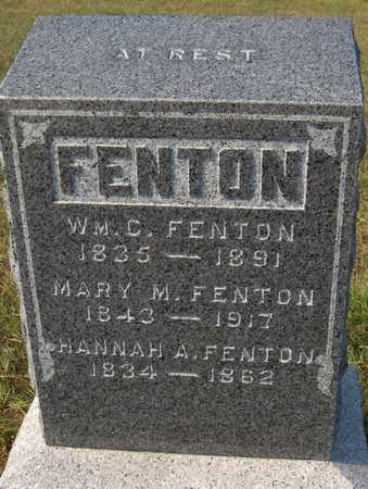 FENTON, WILLIAM C. - Jackson County, Iowa | WILLIAM C. FENTON