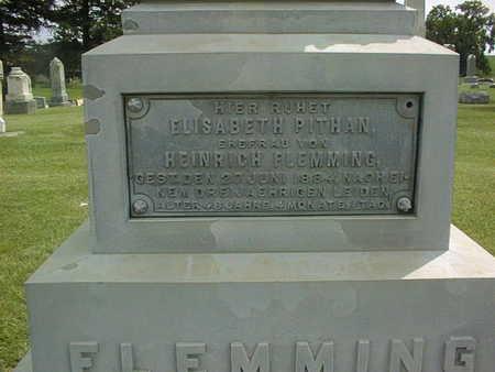 PITHAN FLEMMING, ELISABETH - Jackson County, Iowa | ELISABETH PITHAN FLEMMING