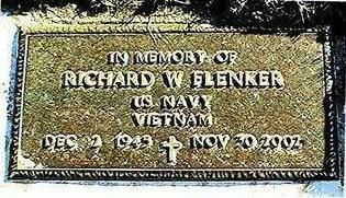 FLENKER, RICHARD W. - Jackson County, Iowa | RICHARD W. FLENKER