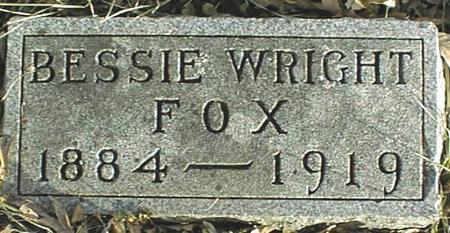 FOX, BESSIE - Jackson County, Iowa | BESSIE FOX