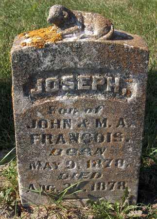 FRANCOIS, JOSEPH - Jackson County, Iowa | JOSEPH FRANCOIS