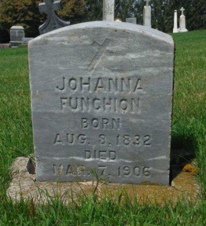 FUNCHION, JOHANNA - Jackson County, Iowa   JOHANNA FUNCHION
