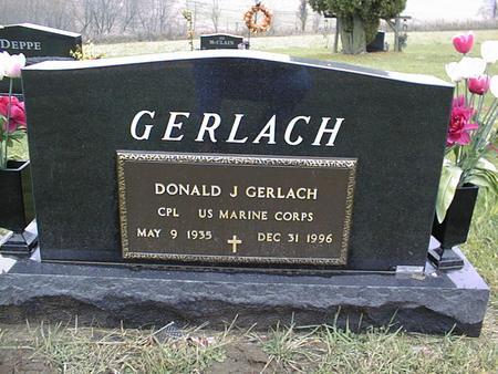 GERLACH, DONALD J. - Jackson County, Iowa | DONALD J. GERLACH