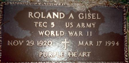 GISEL, ROLAND A. - Jackson County, Iowa | ROLAND A. GISEL