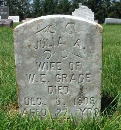 GRACE, JULIA A. - Jackson County, Iowa   JULIA A. GRACE