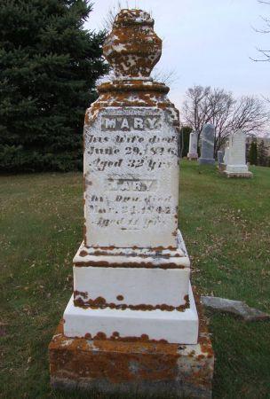 GRACE, MARY - Jackson County, Iowa | MARY GRACE