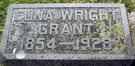 WRIGHT GRANT, EUNA - Jackson County, Iowa | EUNA WRIGHT GRANT