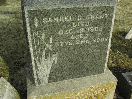 GRANT, SAMUEL C. - Jackson County, Iowa | SAMUEL C. GRANT