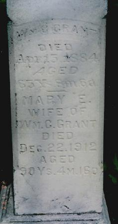 GRANT, MARY - Jackson County, Iowa | MARY GRANT