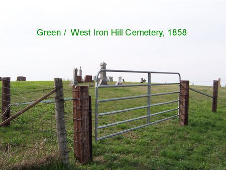 GREEN, CEMETERY - Jackson County, Iowa | CEMETERY GREEN