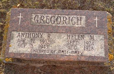 GREGORICH, ANTHONY R. - Jackson County, Iowa | ANTHONY R. GREGORICH