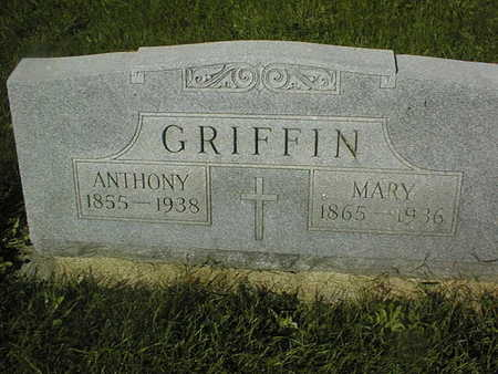 GRIFFIN, MARY - Jackson County, Iowa | MARY GRIFFIN