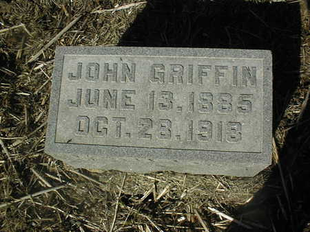 GRIFFIN, JOHN - Jackson County, Iowa | JOHN GRIFFIN