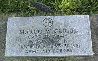 GURIUS, CAPTAIN MARCO - Jackson County, Iowa | CAPTAIN MARCO GURIUS