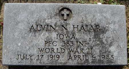 HAIAR, ALVIN N. - Jackson County, Iowa | ALVIN N. HAIAR