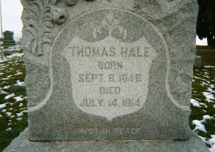 HALE, THOMAS - Jackson County, Iowa | THOMAS HALE