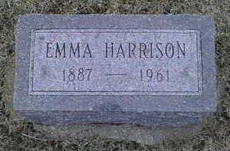 HARRISON, EMMA - Jackson County, Iowa | EMMA HARRISON